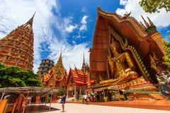 BUDDHA bei Wat Tham Sua Stockfotografie