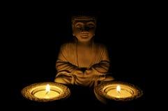Buddha belichtete lizenzfreie stockbilder