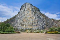 buddha berg Arkivfoto