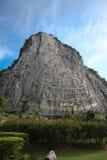 Buddha-Berg Khao-Chi Chan Stockfoto