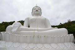 Buddha bianco Fotografia Stock Libera da Diritti