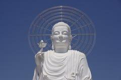 Buddha bianco Immagini Stock Libere da Diritti