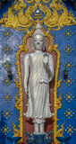 Buddha bianco diritto Immagine Stock Libera da Diritti