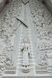 Buddha in bianco e nero Immagine Stock Libera da Diritti