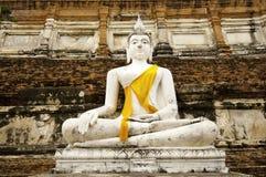 buddha biel pomnikowy stary Fotografia Royalty Free