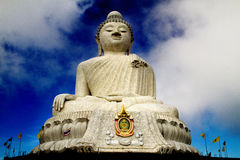 Buddha. Big buddha look at you royalty free stock image