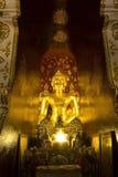 Buddha-Bild bei Wat Pa Dara Phirom, Chiang Mai Thailand Lizenzfreie Stockfotografie