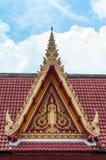 Buddha-Bild am Dachgiebel Lizenzfreie Stockbilder