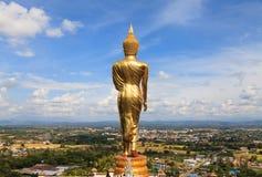 Buddha bild i Nan, Thailand Arkivbild