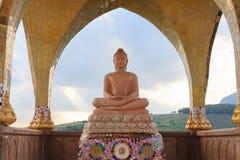 Buddha bild i Thailand Fotografering för Bildbyråer