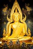 Buddha-Bild in Thailand Lizenzfreies Stockbild