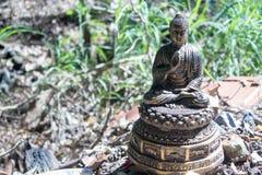 Buddha-Bild weggeworfen Stockfotografie