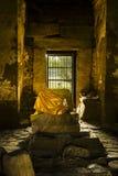 Buddha-Bildkopfschnitt lizenzfreies stockbild