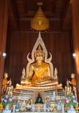 buddha bildmara prästvigning som subduring Royaltyfri Fotografi