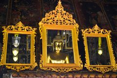 buddha bildreflexion Royaltyfria Foton