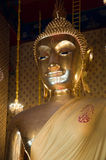 buddha bildsitting Royaltyfria Bilder