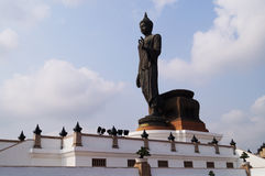 Buddha-Bildstellung Lizenzfreie Stockbilder