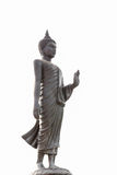 Buddha. Black  Buddha.Buddha on a white background Royalty Free Stock Image