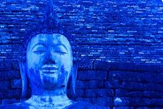 Buddha blu immagine stock libera da diritti