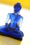 Buddha blu fotografie stock libere da diritti