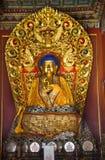 Buddha blu passa il tempiale Pechino del gong di Yonghe Fotografia Stock