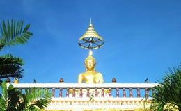 Buddha. In blue sky royalty free stock photos