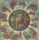 Buddha-Blume Lizenzfreies Stockfoto