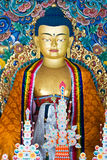 Buddha, Bodhgaya, India. Royalty Free Stock Photography