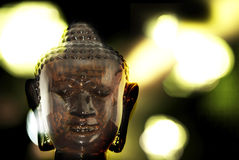 Buddha bokeh Stock Photography