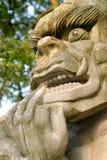 Buddha In Borobudur Temple At Sunrise Royalty Free Stock Images