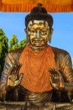 Buddha at Botatoung Pagoda , Yangon in Myanmar (Burmar) Royalty Free Stock Images