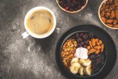 Buddha bowl breakfast stock image