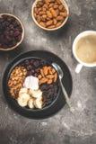 Buddha bowl breakfast Stock Images