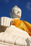 Buddha branco Fotografia de Stock