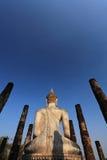Buddha branco, Ayutthaya imagem de stock