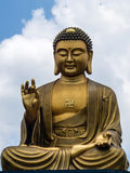 Buddha bronze statue Royalty Free Stock Photo