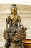 Buddha bronze statue Stock Photos