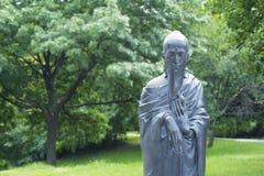 Buddha-Bronzestatue Lizenzfreie Stockfotografie