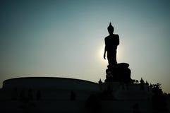 Buddha Buddha, Nakhon Pathom, Thailand. Stockfoto