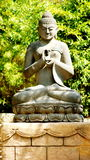 Buddha. In Buddhism is the highest `state of spiritual perfection,` or the name of  Shakyamuni, or the name of one of the other innumerable beings who have Royalty Free Stock Photo