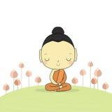 Buddha of buddhism Royalty Free Stock Image