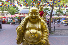 Buddha at Bugis in Singapore Royalty Free Stock Photos