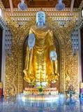 Buddha Burmese immagine stock libera da diritti