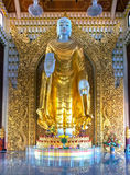 buddha burmese Obraz Royalty Free