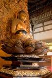 Buddha, Byodo-no templo fotografia de stock royalty free
