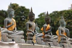 Buddha calcola nel tempio di Seema Malaka di Colombo nello Sri Lanka fotografia stock