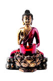 Buddha with candle Royalty Free Stock Images