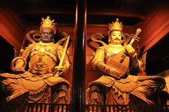 Buddha  carving Stock Photography