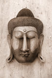 Buddha carving Royalty Free Stock Images