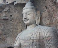 Buddha in caverna di pietra di YunGang Immagine Stock Libera da Diritti